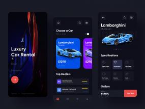 Luxury - Car Rental App