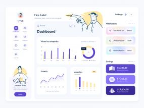 MYAI SaaS Dashboard Design