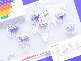 Orion UI kit - Data map visualisation