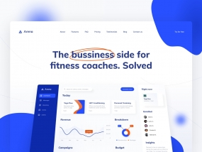 Arena: the business side for fitness coaches. Solved.