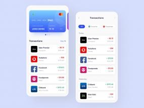 Digital Wallet App Design