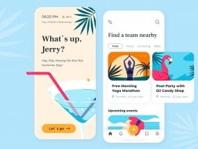 Summer Events Together - Mobile App