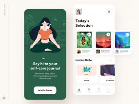 Self-Care Mobile App