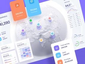 Map dataviz template