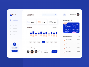 Track. Expense DashBoard