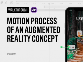 Navigate Trails with Augmented Reality + Process Video