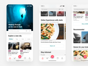 Redesign for airbnb
