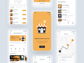 Foodly food delivery app