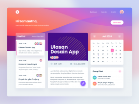 Stripe Inspired Dashboard Design