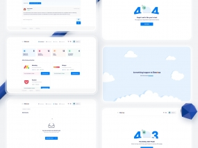 Finnova dashboard UI design