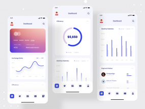 Debank | Bank Dashboard Design | Mobile App