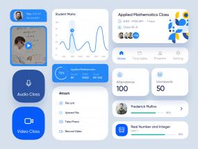 Class Room App Design components