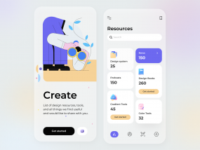 Design Resources - Mobile App