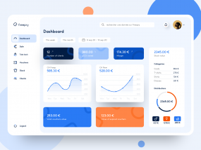 Freepry - Second Hand Clothing Dashboard