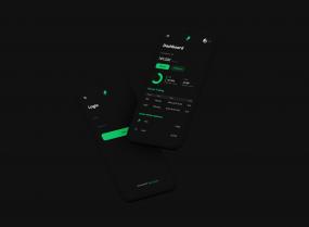 Crypto Exchange Dashboard Dark Theme