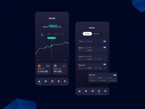 Bitoket cryptocurrency UI and UX Design