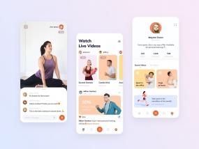 Live streaming fitness platform