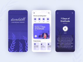Meditation and Mindfulness App Concept