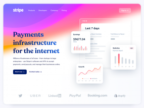Stripe Website Design