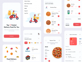 Food Delivery // Mobile App