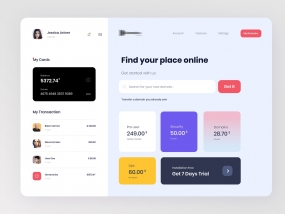 Search Domain | Dashboard design