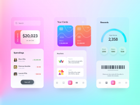 Dashboard for spendng