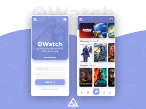 OWatch - Movies and TV Shows App Design