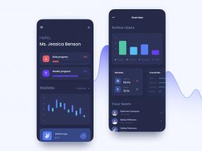 Dashboard Mobile UI