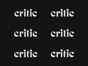Critic Serif Study
