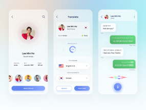 Mobile Chat Auto Translator App