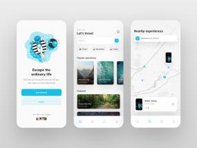 Experiences App UI