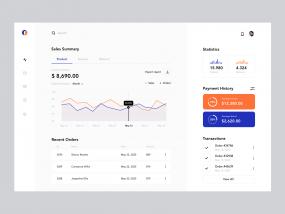 Sales Dashboard Web App