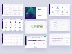 STOKE Platform Screens