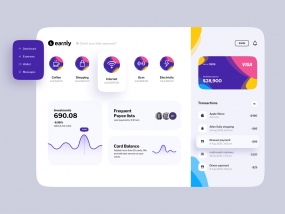 Earnly dashboard