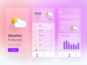 Weather App - Mobile UI