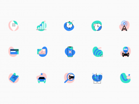 Vertt Mobile Application Icons