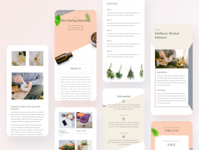 Herbal Remedy - Mobile Pages