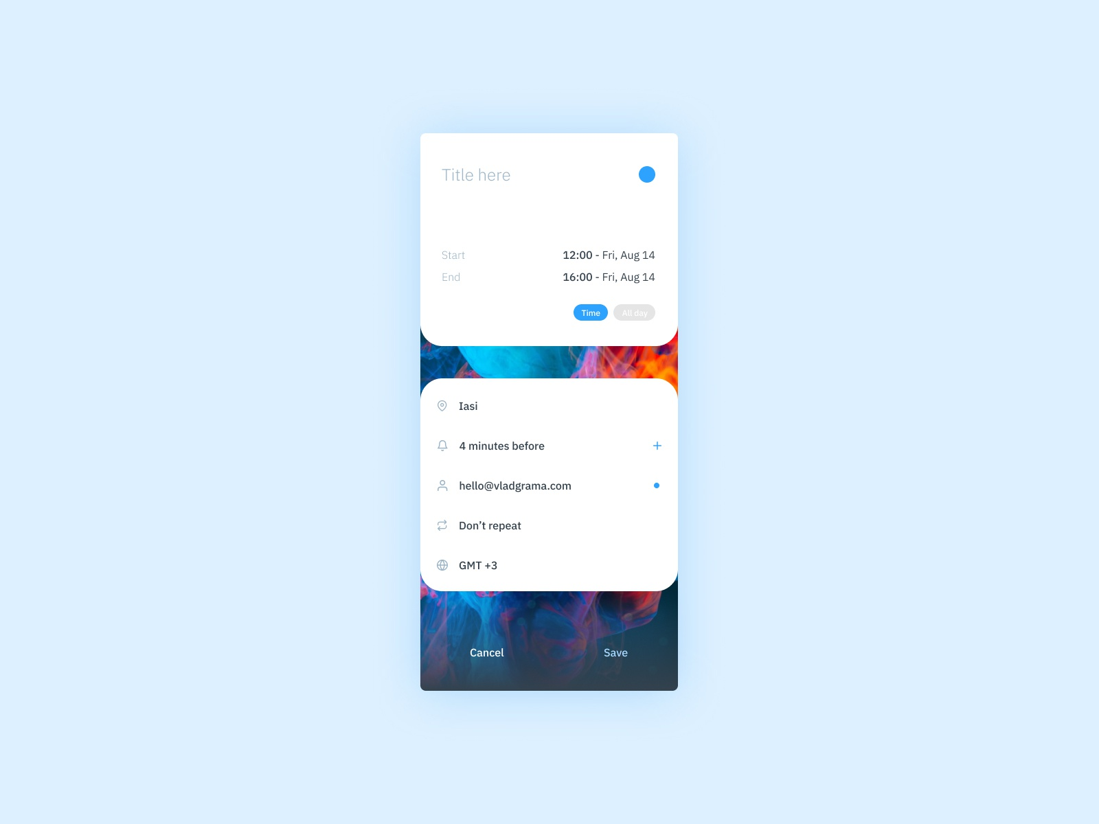 Daily UI #090 - Create new