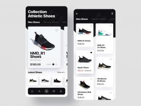 Online Shoes Store - eCommerce UX & UI Design