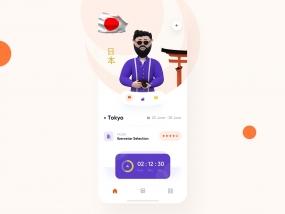 Traveler 3d mobile interaction design