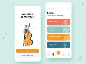 App for Musicians Design