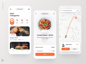 Food Delivery App Design Concept