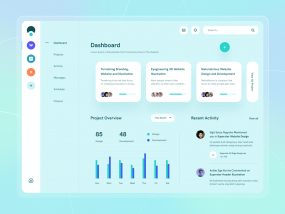Organic - Project Management Dashboard