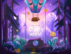 Crypto finance - Mobile app