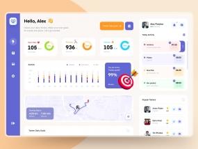Velfit | Fitness Tracker Dashboard