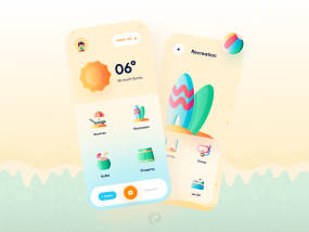 Beach Services App Concept ☀️