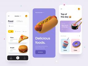 Food App 🍔🍱🍖🍻
