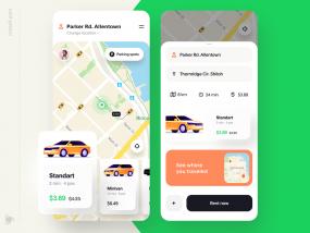 Car Rental App Design Concept