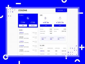 ZigZag - Dashboard Concept