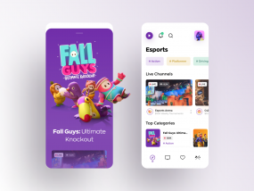 Live streaming app for gamers.